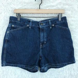 Cinch Jean Shorts Blue Indigo Vintage 90s Old Navy